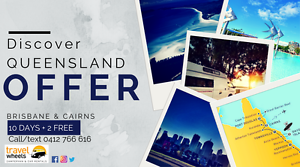 Discover Queensland on a campervan for 10 days + 2 days free Brisbane City Brisbane North West Preview