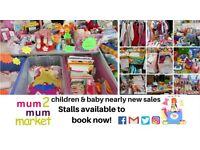 READING'S MUM2MUM MARKET (CAVERSHAM) CHILDREN & BABY NEARLY NEW SALE