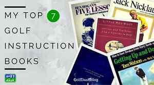 My Top 7 Best Golf Instruction Books