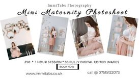 Mini Maternity shoot - Reduced rates - limited time offer with London photographer
