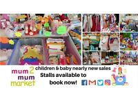 READING'S MUM2MUMMARKET CHILDREN & BABY NEARLY NEW SALES - WHITLEY