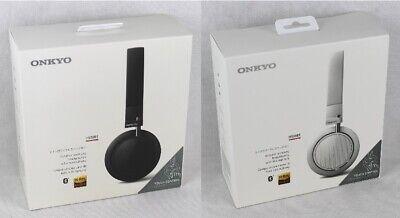 H500 Bluetooth (Onkyo H500BT On-Ear Bluetooth-Kopfhörer mit Mikrofon (in schwarz oder weiß))
