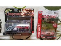 Die cst collectable cars from the film Christine 1:64 scale