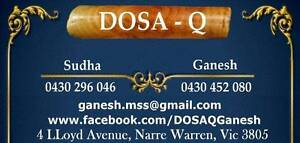 DOSAQ'S DOSA BATTER AVAILABLE NOW....WOOOWWW... Narre Warren Casey Area Preview