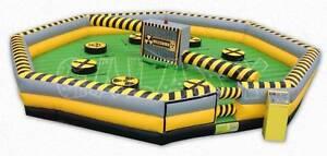 Smack Amusements - Meltdown Inflatable Game Hire Brisbane/Sydney Loganholme Logan Area Preview