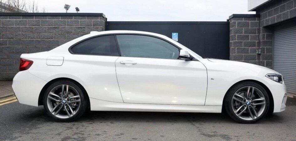 218d coupe bmw m sport only 7k in stanley county durham gumtree. Black Bedroom Furniture Sets. Home Design Ideas