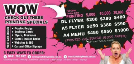 NEED TO PRINT FLYERS?