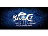PC Maniacs, new and refurbished gaming PC for sale, high end only, top quality. Free delivery