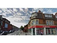 Good value one bedroom flat above shops with own entrance in Willesden !! REDUCED !!