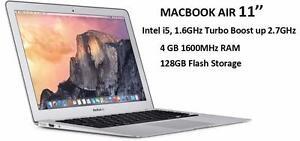 MACBOOK AIR 11 2015-mid , i5 1.6 ghz 4 GB 128GB,Office PRO 2016,MASTER SUITE ADOBE ,FINAL CUT PRO X,LOGIC PRO X, IN BOX