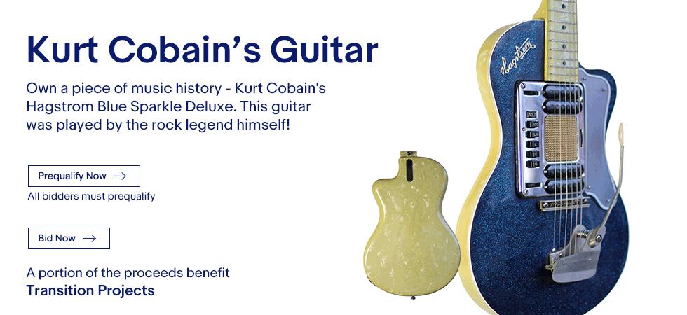 Na aukciji na eBayju gitara Kurta Cobaina