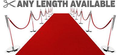 Hollywood Roter Teppich Outdoor Läufer Haltbar Rutschfest Extra Lang Event Matte