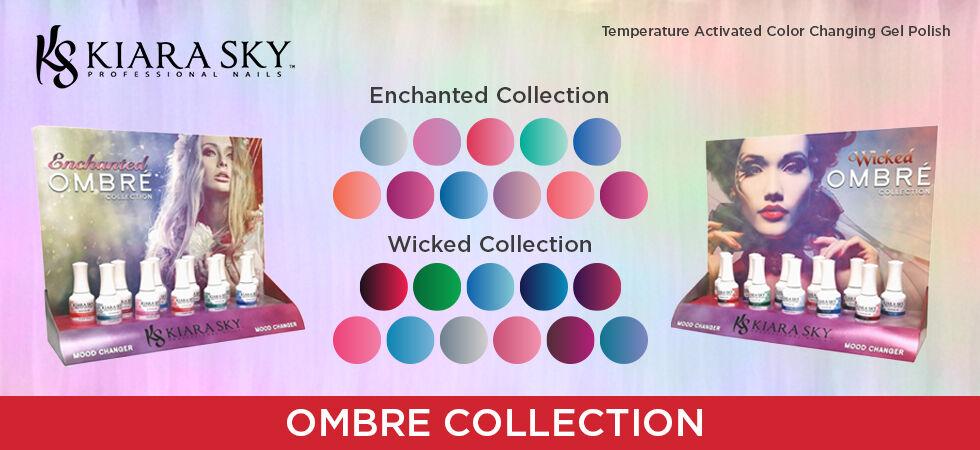 Kiara Sky Mood Changing Gel Polish Ombre Collection- .5oz