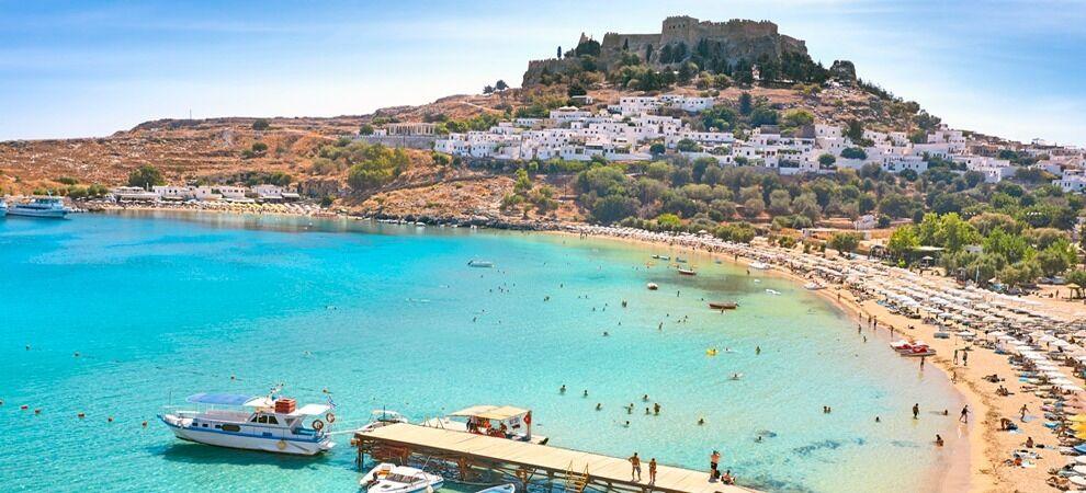Two Return Flights Birmingham to Greece, Rhodes. 17th-24th July. (£130 each)