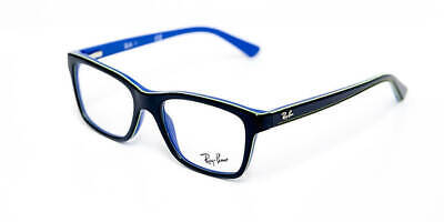 Glasses View Ray-Ban Junior RY1536 3600 Top Dark Grey on Blue (for Niñ @ (Junior Ray Bans On Adults)