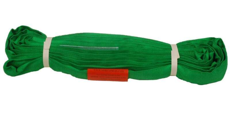 14Ft Endless Green Round Sling 6000LB Vertical