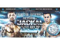 Premium Frampton-Gutierrez ticket Belfast