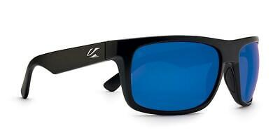 KAENON BURNET MID SUNGLASSES MATTE BLACK / PACIFIC BLUE POLARIZED 046MBMBGN-BLUE for sale  Shipping to Canada