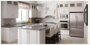CABINETS (BATH  AND KITCHEN) ANY SIZE, ANY COLOR! IN ONE WEEK