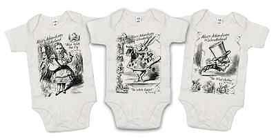 Alice Wonderland Baby Bodysuit