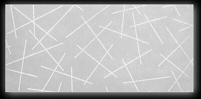 25 Blatt DIN lang Transparentpapier Zanders Spectral Montmartre, Linienmuster