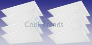8 packages of Led Panel Light, 72W, 5000K, 2x4 (1213x603x10mm)