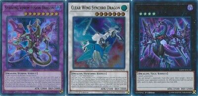 All 3 Ultra** Starving Venom Fusion Dragon: Fusion+ Clear Wing + Dark Rebellion