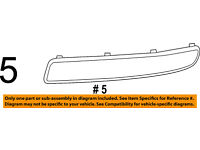 FIAT OEM 500 Front Bumper Grille Grill-Applique Window Trim Right 1SD80SZ0AA