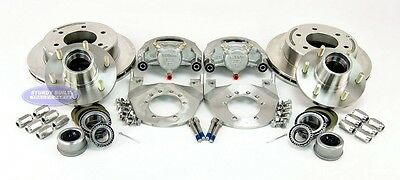 Kodiak 12 Inch Trailer Disc Brake Set All Stainless Steel With Stainless Hubs