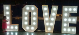 Illuminated letters for sale