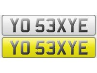 ***NUMBER PLATE..YO SEXYE*** for sale