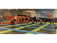 SuperFit Trampoline Bounce Fitness Claass