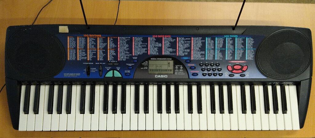 2d1f834b9d9 Casio CTK-495 Electric Keyboard   in Downton, Wiltshire   Gumtree