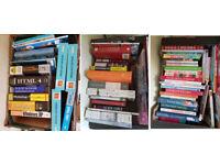 Books Galore (3 x Boxes)