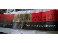 Fine 100 % cotton sheets