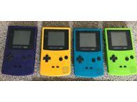 Gameboy color colour