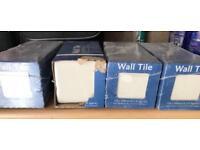 Wall Tiles - Gloss Cream & Gloss Barley