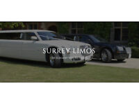 Call Surrey Limos ☎️ 0800 688 9008 Party Bus, Wedding Car & Limo Hire, Licensed & Chauffeur Driven