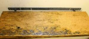 Custom reclaimed barn wood floating shelves - FREE SHIPPING