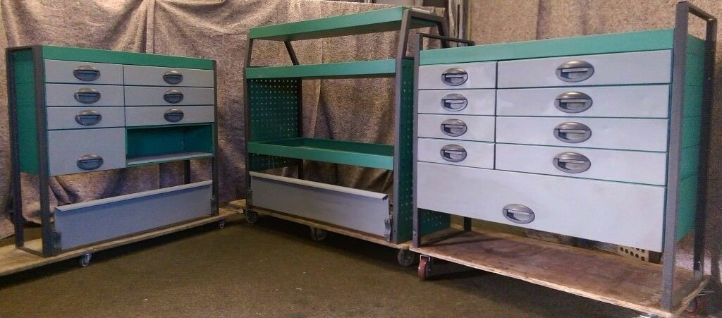 Edstrom Van racking, van shelving, van drawers
