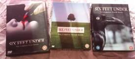 Six feet under dvd box sets x 3