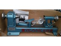 Vicmarc VL100 Wood Turning Lathe - Unused - As New - ( motor extra if needed )