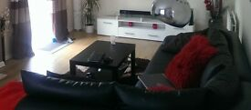 FREE Leather corner sofa for collection