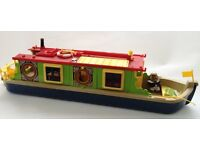 Sylvanian Families Riverside Canal Boat with 3 figures and accessories