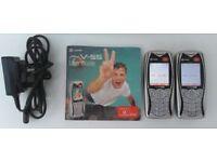 PAIR OF RETRO MOBILE PHONES - Sagem My MyV-55 (Vodafone)