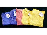 Five Assorted Colour T–Shirts (Unisex)