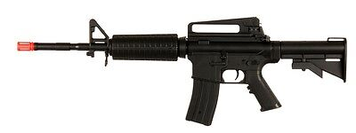 Well D94S M4 M16 RIS AEG Electric Airsoft Rifle Tactical Gun + Battery & Cha, used for sale  Laotto