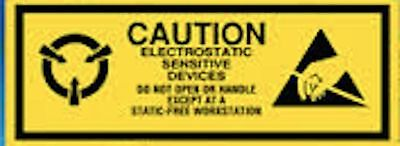 Esd 2x58 Caution Electrostatic Sensitive Devices Static Warning 500 Labels