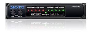 Motu Midilite USB Midi Interface