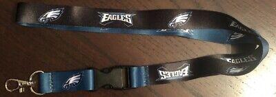 NFL Philadelphia Eagles Football Breakaway Lanyard New NFL Clip Detachable ID  - Football Lanyards
